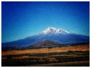 Beautiful view of Mt. Shasta.